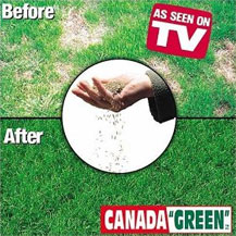 Brilliant, Lush, Green lawn in just 10 days with Canada Green Grass